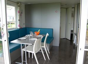 Salle à manger - Mobil-home panoramique